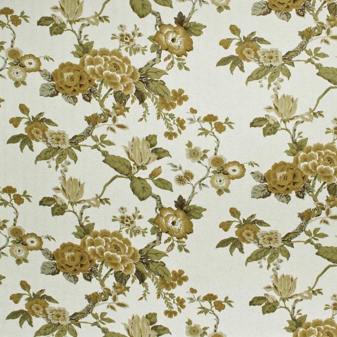 Tecidos Joaçaba decoração FLOR ISLÂNDIA MOCHA Florais