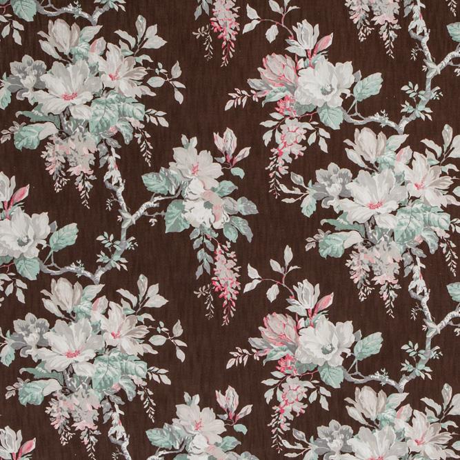 Tecidos Joaçaba decoração FLOR MARLIN TABACO Florais