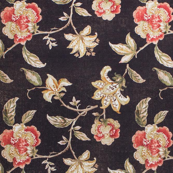 Tecidos Joaçaba decoração FLOR POLINESIA SLATE Florais