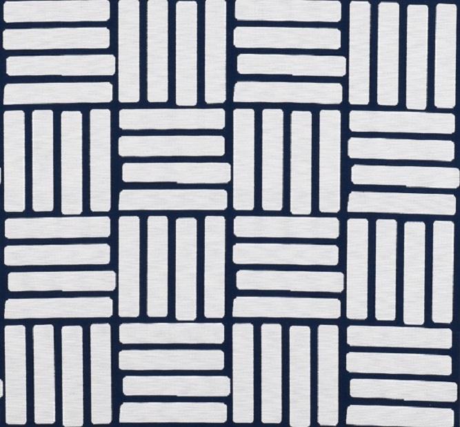 Tecidos Joaçaba decoração TIJOLINHO BLUE Geométricos