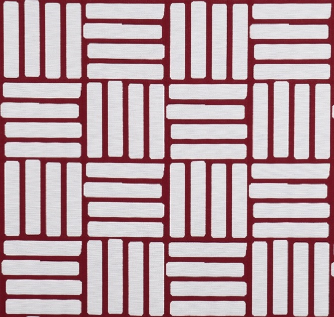 Tecidos Joaçaba decoração TIJOLINHO RED Geométricos