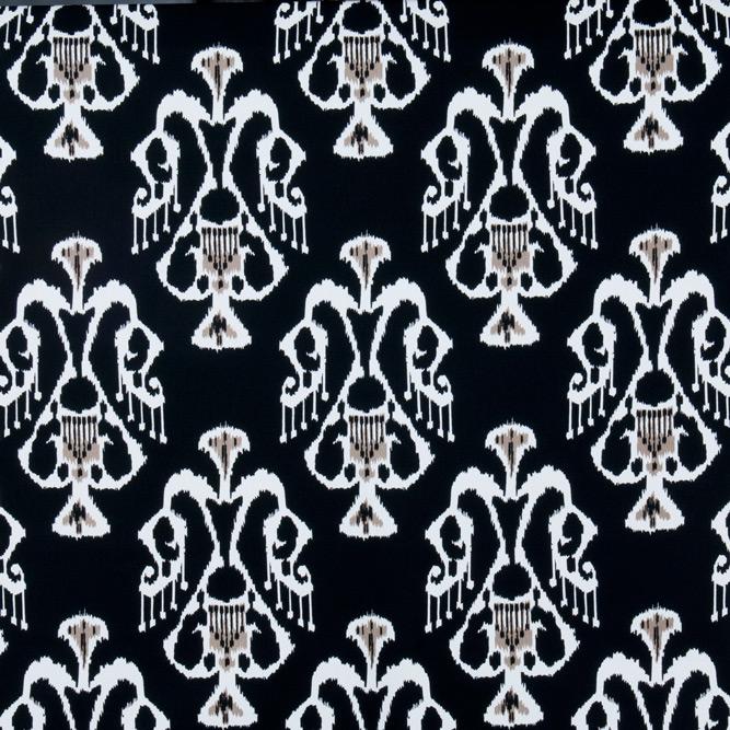 Tecidos Joaçaba decoração IKAT ONIX Ikat