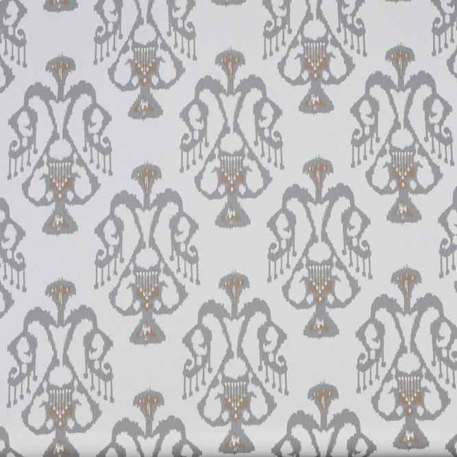 Tecidos Joaçaba decoração IKAT SILVER Ikat