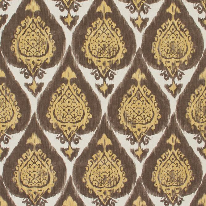 Tecidos Joaçaba decoração IKAT SUECIA 23 MOCHA Ikat