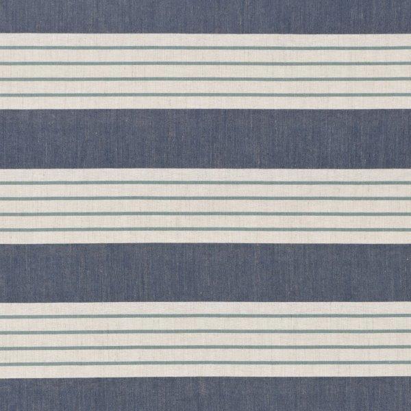 Tecidos Joaçaba decoração LISTA FRANÇOIS BLUE Listrados