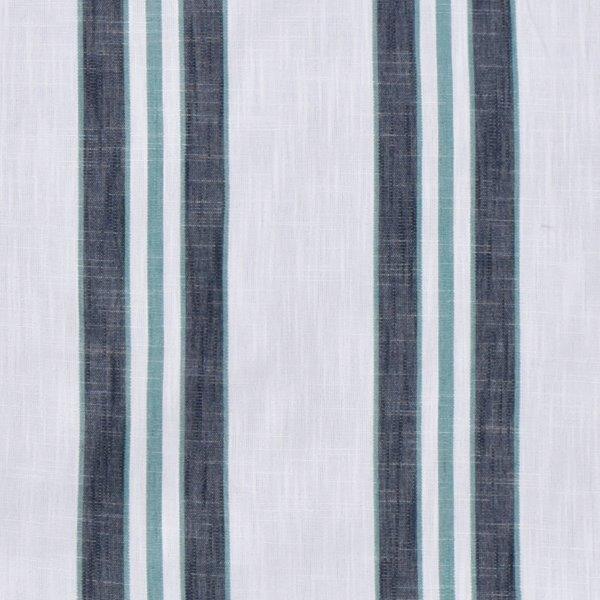 Tecidos Joaçaba decoração LISTA SAFARI BLUE Listrados